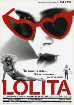 Affiche lolita film kubrick