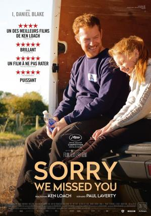 Sorry we missed you affiche